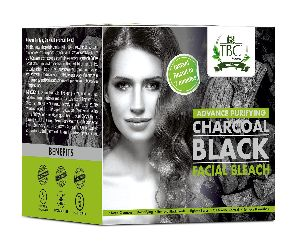 Charcoal Black Facial Bleach