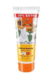 TBC Organic Sunblock Mattifying Cream