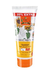 TBC Organic Sunblock Protect Cream