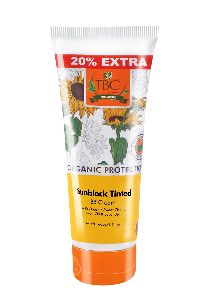 TBC Organic Sunblock Tinted BB Cream