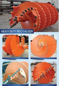 Heavy Duty Rock Auger