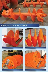 Heavy Duty Soil Auger