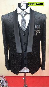 5 Piece Mens Coat Suit