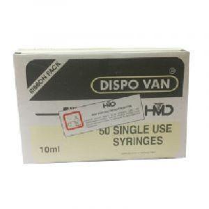 10ml Dispo Van Syringe