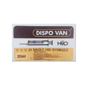 20ml Dispo Van Syringe