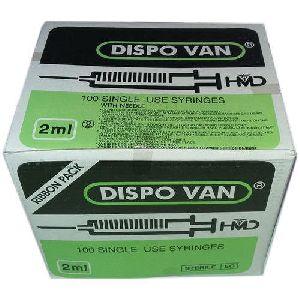 2ml Dispo Van Syringe