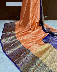 Tissue Tanchoi Saree
