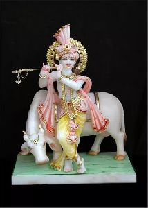 Gopal Marble Statue