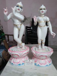 Marble Iskcon Radha Krishna Murti