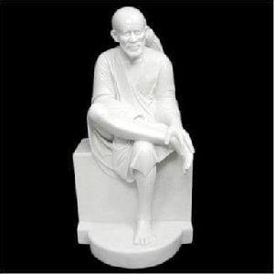 White Marble Shirdi Sai Statue
