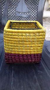 Banana Fibre Laundry Basket