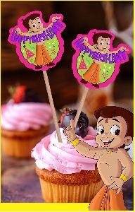 Chhota Bheem Cup Cake Topper