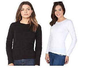 Ladies Full Sleeve T-Shirts