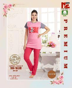 Ladies T-Shirt & Pajama Set