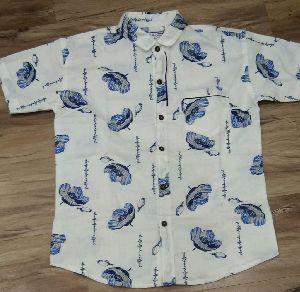 Mens Half Sleeve Printed Shirts