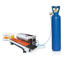 Nitrogen Gas Flushing packing Machine