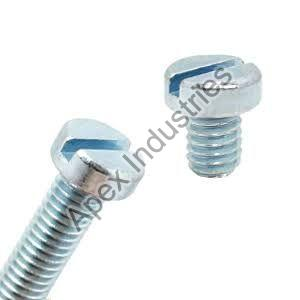 Mild Steel Cheese Head Slotted Screws