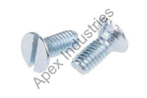 Mild Steel CSK Slotted Screws