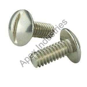 Mild Steel Truss Slotted Screws