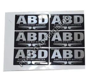 Polycarbonate Screen Label