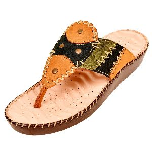 Ladies Leather Orthopaedic Sandals