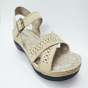 Ladies Synthetic Sandals