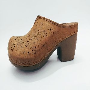 Ladies Wedge Heel Slippers