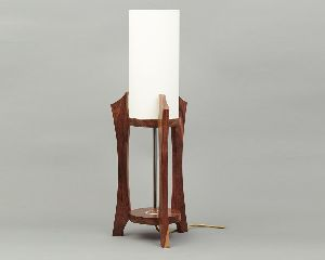 Wooden Study Lamp