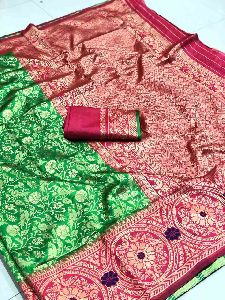 Heavy Jacquard Saree
