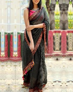 Party Wear Jacquard Saree