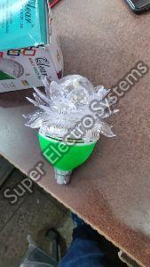 LED Crystal Lotus Rotating Bulb