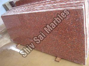 Jhansi Red Granite Slabs