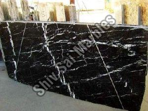 Marquina Black Granite Slabs