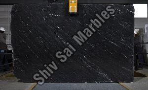 Ocean Black Granite Slabs