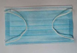 Blue 3 Ply Face Masks
