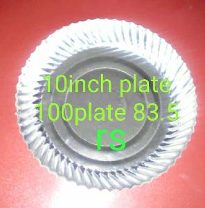 10 Inch Silver Paper Plates