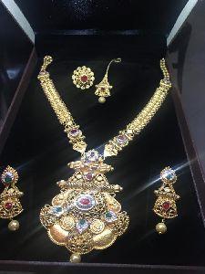 Antique Long Necklace Set