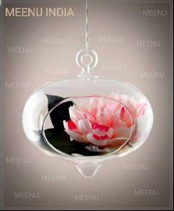 Borosilicate Glass Decorative Hanging Flower Planter