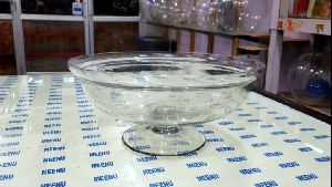 Glass Bowl with Stand