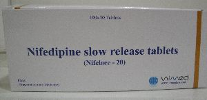 Nifelace - 20 Nifedipine Slow Release Tablets