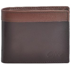 Leather Wallet Boys Dark Brown