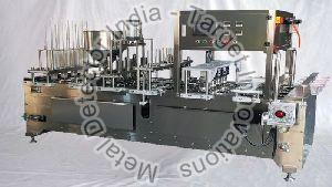 Fully Automatic Rotary Type Cup Filling & Sealing Packaging Machine