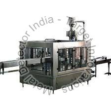 Juice Bottle Rinsing Filling Machine