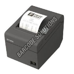 Black Wireless Barcode Printer