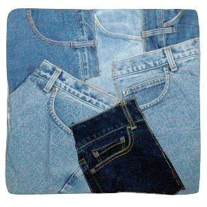 Denim Cushion Cover