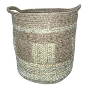 Jute Rope and Hemp Basket