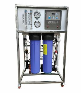 250 LPH RO + UV Automatic Industrial Water Purifier