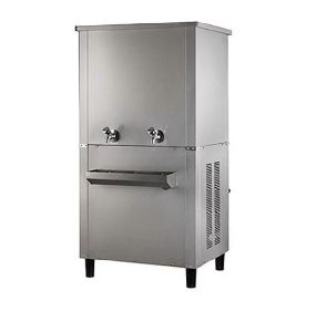 Stainless Steel Water Cooler with Inbuilt 100 LPH RO Water Purifier