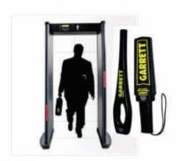Door Frame & Hand Held Metal Detector