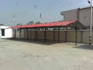 Steel Roof Shed